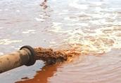 dumping toxic waste