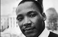 1st Martin Luther King Jr.
