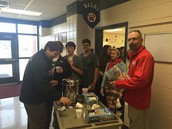 NFMS Admin delivers hot chocolate to every Wildcat student