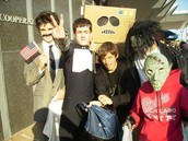 Trick or Treat Down the Street- Picture by Steve Ramon (Student)