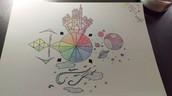 Ashlyn's incredibly creative color wheel reinterpretation