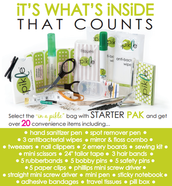 20+ item Starter Pak