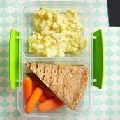 Egg Salad with Pita Crackers (Parents.com)
