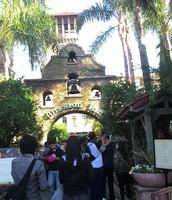 Artistics Shot of the Mission Inn