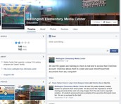 Elementary Library Facebook Page