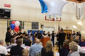 CB West Choir Performs at Veterans' Luncheon at YMCA