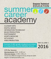 Summer Camp-Grayson Tech