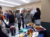 Students show appreciation!