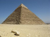 Why are the pyramids triangles?