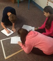 Measuring Polygons and Converting from in to ft to yds