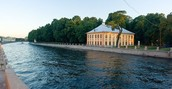 Sammer palace of Peter the Great.