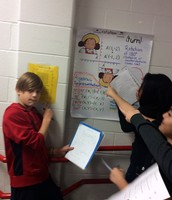 using anchor charts to complete questions