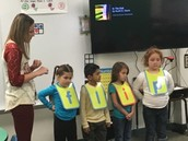 Reinforcing rhyming, blends, CVC, and basic phonic skills with letter vests!