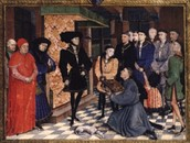 Duke Philip the Good of Burgundy and his court