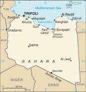 eastern and Libyan desert