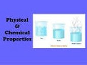 Chemical property's