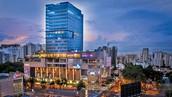 El JW Marriott Hotel Santo Domingo