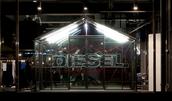 Diesel Pop up store on Regent Street