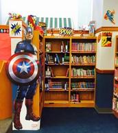 Gilbert J. Mircovich Elementary Library