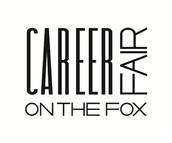 Career Fair: Tuesday 1pm-5pm