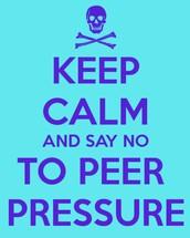 More peer pressure