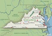 This is the colony of Virginia.