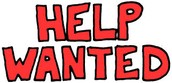 Help Wanted . . .