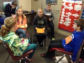 Students got into character and made good arguments!
