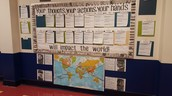 Our Hallway Bulletin Board!