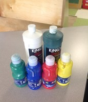 Donation request: washable paint
