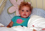 Little Girl With Anemia