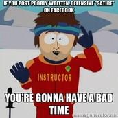 Social Media Satire