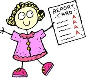 REPORT CARD GOES TO SCHOOL SOON!!!