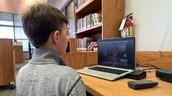 Skype Visit with Kate Messner