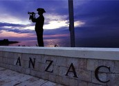 ANZAC cove In Gaplipoli