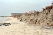 Oceans Eroding Shorelines