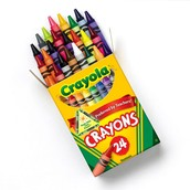 When were Crayola crayons made or invented?