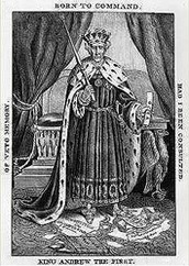 Political Cartoon: King Jackson the First