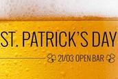 OPEN BAR - St. Patrick's Day da @PA