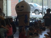 Culver's donates ice cream for the big event!