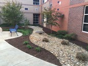 High School Courtyard Beautification