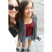 & my sister