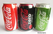 The different types of cokes