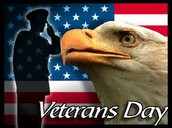 Join us in honoring our veterans!