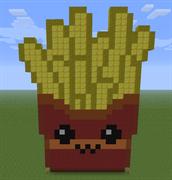 Pixel Art Fries