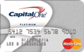 Credit Card Offer 3-Capital One® Platinum Credit Card