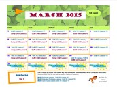 March 2015 Class Connect Lesson Calendar