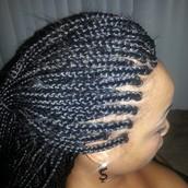 individuals/box braids