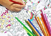 COLORING ISN'T JUST FOR KIDS!
