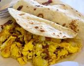 Los Tacos Para Desayuno - quinientos veinte pesos. (520)